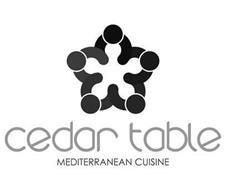 CEDAR TABLE MEDITERRANEAN CUISINE