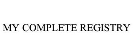 MY COMPLETE REGISTRY