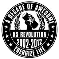 XS REVOLUTION 2002-2012 A DECADE OF AWESOME ENERGIZE LIFE