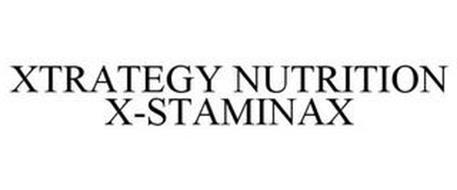 XTRATEGY NUTRITION X-STAMINAX