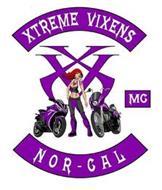 XTREME VIXENS XV XV MC NOR-CAL