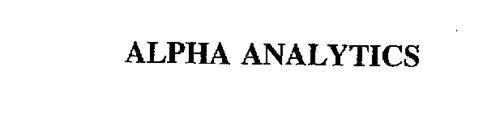 ALPHA ANALYTICS