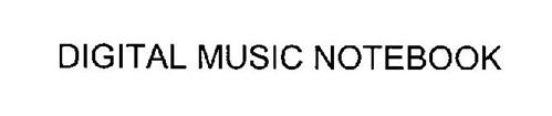 DIGITAL MUSIC NOTEBOOK