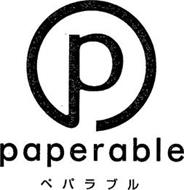 P PAPERABLE