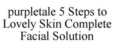 PURPLETALE 5 STEPS TO LOVELY SKIN COMPLETE FACIAL SOLUTION