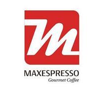 M MAXESPRESSO GOURMET COFFEE