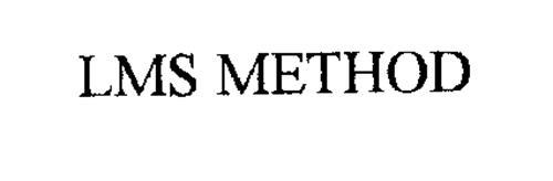 LMS METHOD