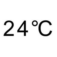 24 °C