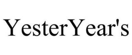 YESTERYEAR'S