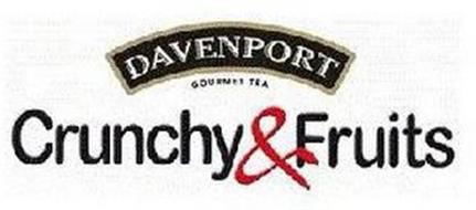 DAVENPORT GOURMET TEA CRUNCHY & FRUITS