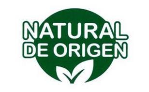 NATURAL DE ORIGEN