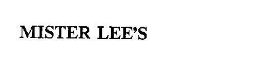 MISTER LEE'S