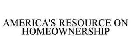 AMERICA'S RESOURCE ON HOMEOWNERSHIP