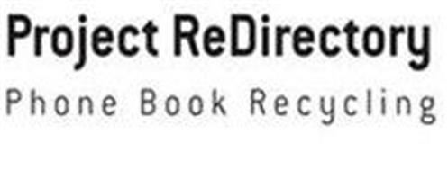 PROJECT REDIRECTORY PHONE BOOK RECYCLING
