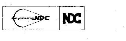 NDC ENGINE BEARINGS