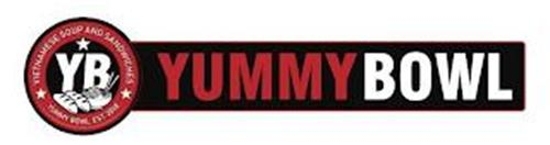 YB VIETNAMESE SOUP AND SANDWICHES YUMMY BOWL EST. 2018 YUMMY BOWL