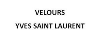 VELOURS YVES SAINT LAURENT