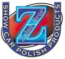 Z ZAINO SHOW CAR POLISH PRODUCTS