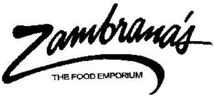zambranas the food emporium trademark of zambranas ltd
