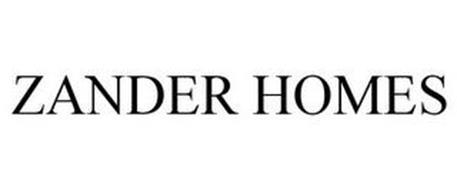ZANDER HOMES