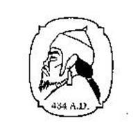 434 A.D.