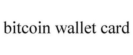BITCOIN WALLET CARD