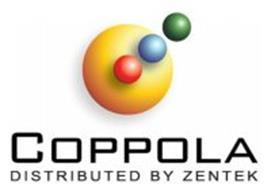 COPPOLA DISTRIBUTED BY ZENTEK