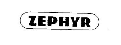 zephyr trademark of zephyr manufacturing co inc serial number 73210060 trademarkia trademarks. Black Bedroom Furniture Sets. Home Design Ideas