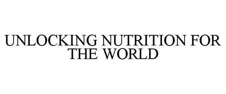 UNLOCKING NUTRITION FOR THE WORLD