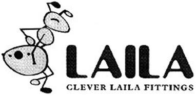 Laila Clever Laila Fittings 79084204 on door covers rubber