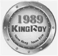 1989 KINGROY NEW ROY NEW ERA