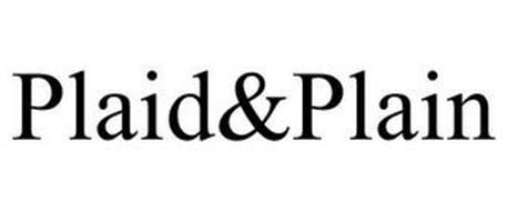 PLAID&PLAIN