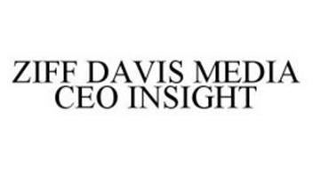 ZIFF DAVIS MEDIA CEO INSIGHT