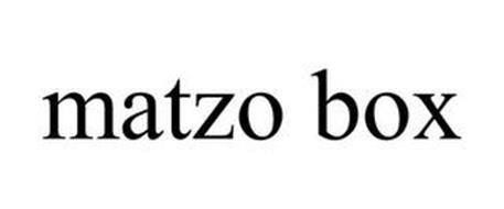 MATZO BOX