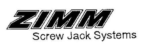 ZIMM SCREW JACK SYSTEMS