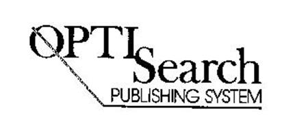 OPTI SEARCH PUBLISHING SYSTEM