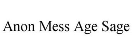 ANON MESS AGE SAGE