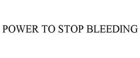 POWER TO STOP BLEEDING