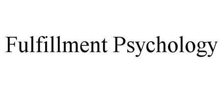 FULFILLMENT PSYCHOLOGY