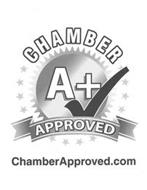 CHAMBER A+ APPROVED CHAMBERAPPROVED.COM