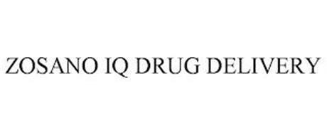ZOSANO IQ DRUG DELIVERY