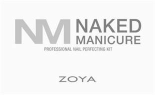 NM NAKED MANICURE PROFESSIONAL NAIL PERFECTING KIT ZOYA
