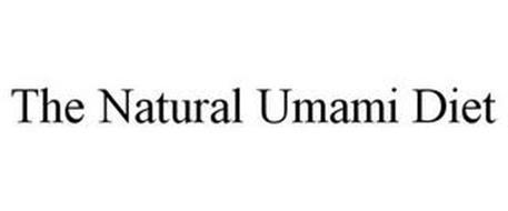 THE NATURAL UMAMI DIET