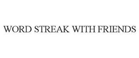 WORD STREAK WITH FRIENDS
