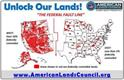 UNLOCK OUR LANDS! ALC FOUNDED 2012 AMERICAN LANDS COUNCIL ACCESS - HEALTH - PRODUCTIVITY