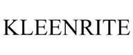 trademark - KLEENRITE