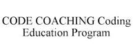 trademark - CODE COACHING CODING EDUCATION PROGRAM