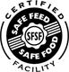trademark - CERTUFIED SAFE FEED SFSF SAFE FOOD FACILITY