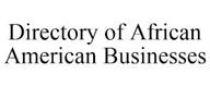 trademark - DIRECTORY OF AFRICAN AMERICAN BUSINESSES