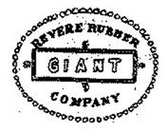 GIANT REVERE RUBBER COMPANY GIANT